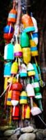 Colorful Buoys Fine Art Print