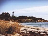 Nobska Lighthouse Landscape Fine Art Print