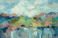 Abstract Lakeside Fine Art Print