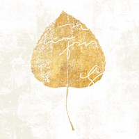 Bronzed Leaf II Fine Art Print