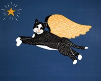 Angel Cat Fine Art Print