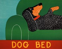 Dog Bed Dachshund Fine Art Print