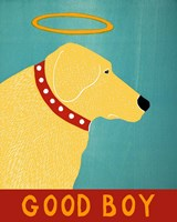 Good Boy Yellow Fine Art Print
