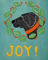 Joy Black Fine Art Print