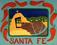 Santa Fe Choc Fine Art Print