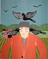 Scarecrow Top Fine Art Print