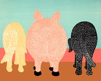 We Eat Like Pigs Fine Art Print
