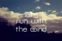 Run With The Wind Fine Art Print