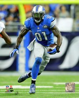 Calvin Johnson 2015 Action Fine Art Print