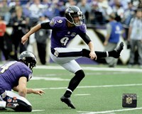 Justin Tucker 2015 Action Fine Art Print
