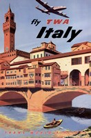 Fly To Italy Fine Art Print
