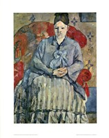 Madame Cezanne (red chair) Fine Art Print