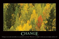 Change Fine Art Print