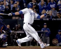 Alex Gordon Home Run Game 1 of the 2015 World Series Fine Art Print