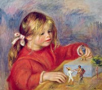 Claude Renoir at play, c.1905 Fine Art Print