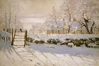 The Magpie, 1869 Fine Art Print