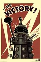 Doctor Who - Dalek To Victory Fine Art Print