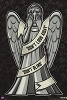 Doctor Who - Weeping Angels Fine Art Print