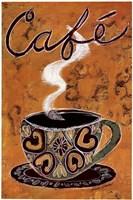 International Cafe Fine Art Print