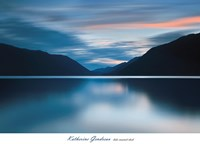 Lake Crescent Dusk Fine Art Print