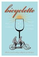 Bicyclette Recipe Fine Art Print