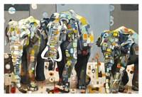 Sumatran Elephants Fine Art Print