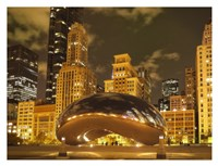 Bean at Night Fine Art Print