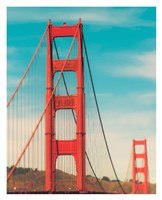 Golden Gate in The Morning Fine Art Print