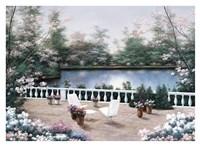 Terrace View Fine Art Print