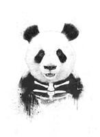 Zombie Panda Fine Art Print