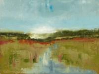 Landscape Aflutter Fine Art Print