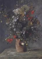 Flowers in a Vase, c. 1866 Fine Art Print