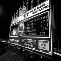 Scoreboard at U.S. Cellular Field, Chicago, Cook County, Illinois Fine Art Print