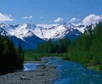 Chugach Mountains, Alaska Fine Art Print