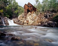 Old Saw Mill, Marble, Colorado Fine Art Print