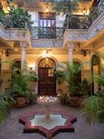 Villa des Orangers Hotel, Marrakesh, Morocco Fine Art Print