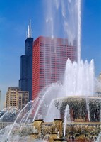 Buckingham Fountain, Chicago, Illinois Fine Art Print