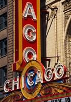 Chicago Theater Sign, Illinois Fine Art Print