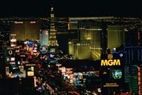 The Strip, Las Vegas, Clark County, Nevada Fine Art Print
