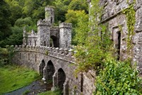 Ballysaggartmore Towers, Lismore, County Waterford, Ireland Fine Art Print