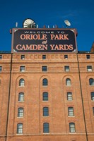 Oriole Park at Camden Yards, Baltimore, Maryland Fine Art Print