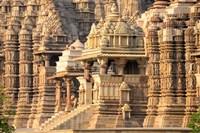 Khajuraho temple, Chhatarpur District, Madhya Pradesh, India Fine Art Print