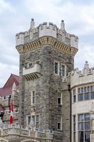 Tower on Casa Loma Castle, Toronto, Ontario, Canada Fine Art Print