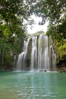 Llanos De Cortez Waterfall, Costa Rica Fine Art Print