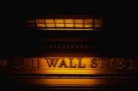 11 Wall St. Building Sign Fine Art Print