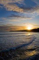 Beach & Great Newtown Head, Tramore, County Waterford, Ireland Fine Art Print