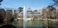 Palacio De Cristal, Madrid, Spain Fine Art Print