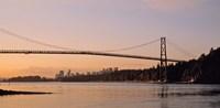 Vancouver, Lions Gate Bridge Fine Art Print