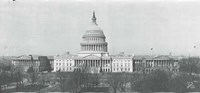 US Capitol, Washington DC, 1916 Fine Art Print