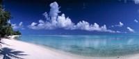 Matira Beach, Bora Bora Polynesia Fine Art Print
